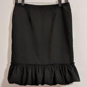 Express Bubble Ruffle Skirt